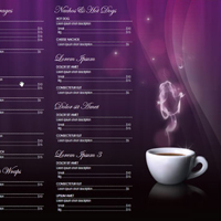 Design a Coffee Shop Menu Layout from Scratch with Photoshop and InDesign &#8211; Part 2