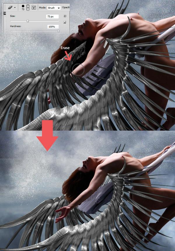 Crear una diosa del amor cósmico con Photoshop CS5  10