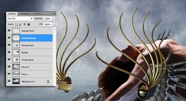 Crear una diosa del amor cósmico con Photoshop CS5  11