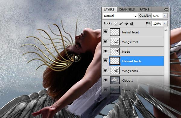 Crear una diosa del amor cósmico con Photoshop CS5  12