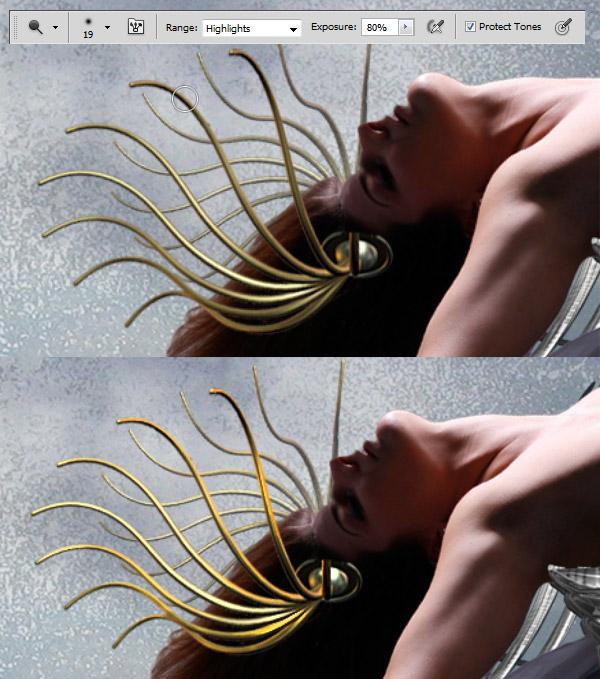 Crear una diosa del amor cósmico con Photoshop CS5  13