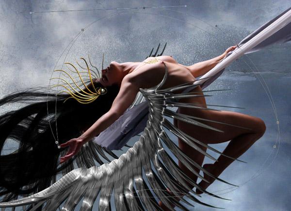 Crear una diosa del amor cósmico con Photoshop CS5  17