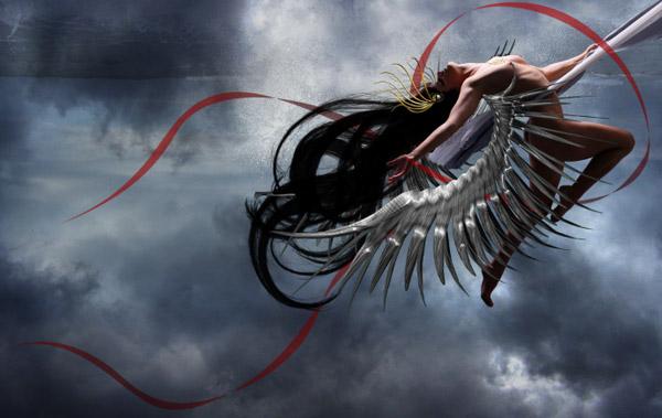 Crear una diosa del amor cósmico con Photoshop CS5  19