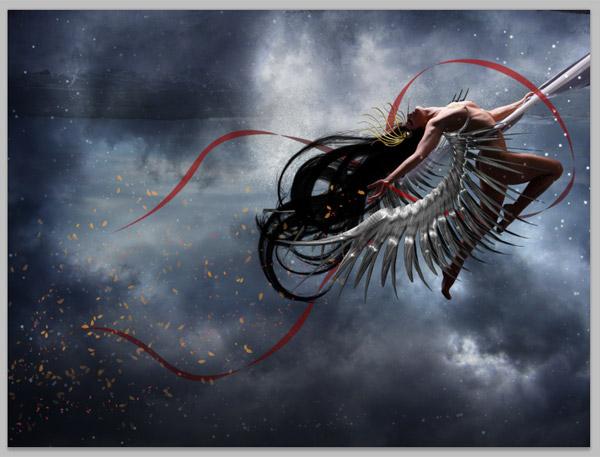 Crear una diosa del amor cósmico con Photoshop CS5  25