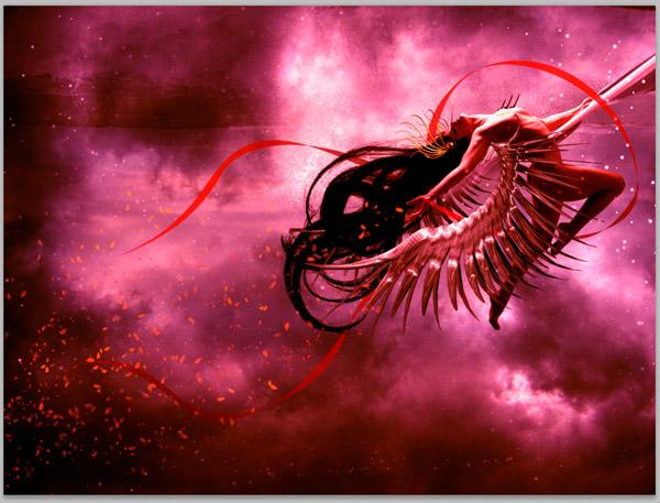 Crear una diosa del amor cósmico con Photoshop CS5  27