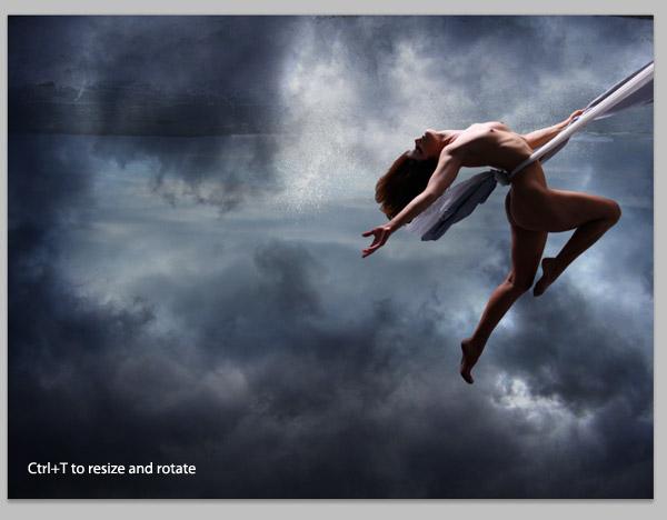 Crear una diosa del amor cósmico con Photoshop CS5  8