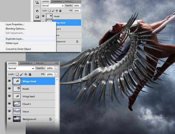 Crear una diosa del amor cósmico con Photoshop CS5  9