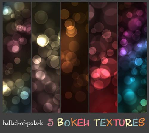 5 текстур бликов