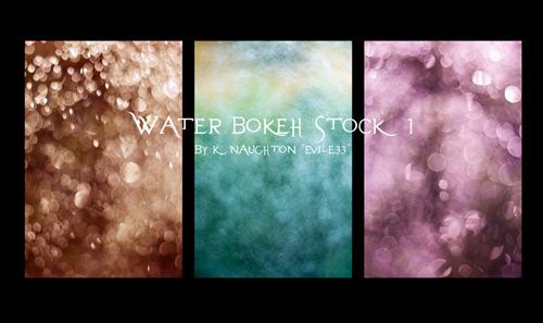 9 текстур бликов воды