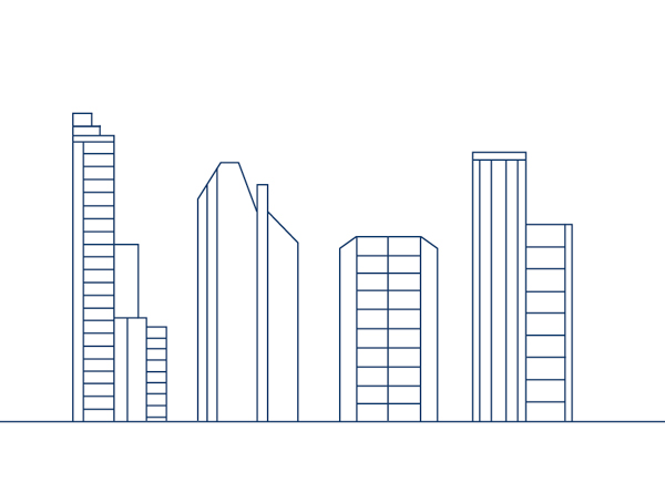 How To Draw Buildings Step By Step