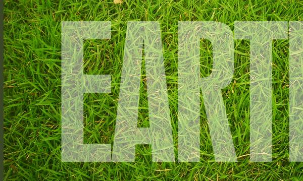 10 Thiết Kế Hiệu Ứng Text bằng Cỏ trong Photoshop