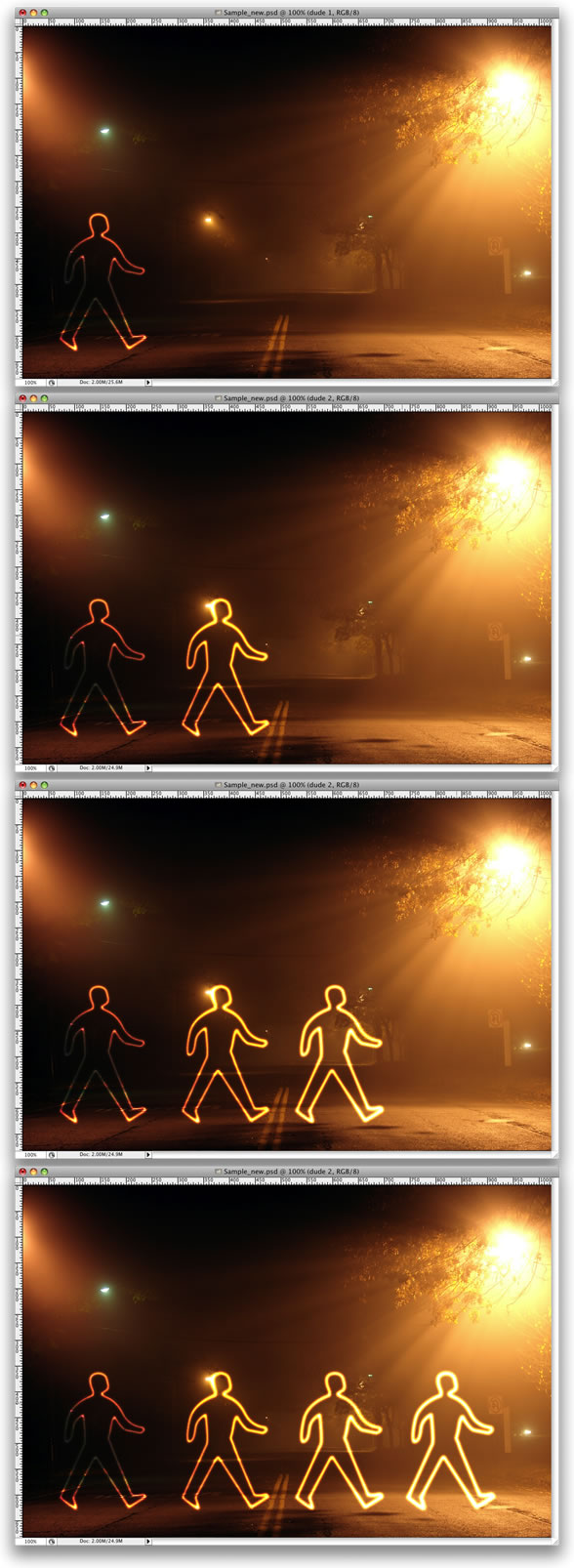 Light Painting Effect -