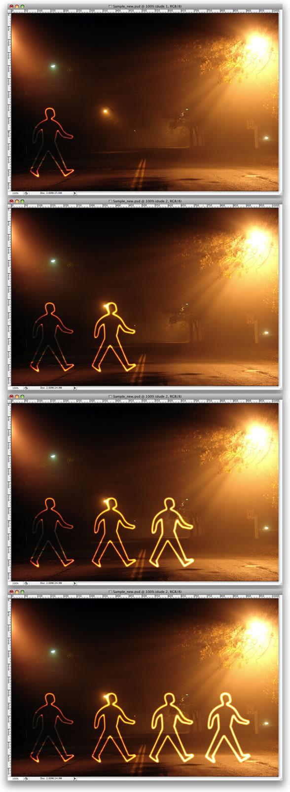 Light Painting Effect -