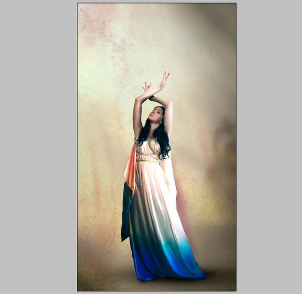Cómo crear Fantasticos Destellos, Foto Manipulación PSD, Photoshop 15