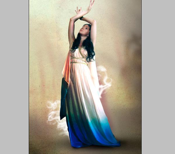 Cómo crear Fantasticos Destellos, Foto Manipulación PSD, Photoshop 16