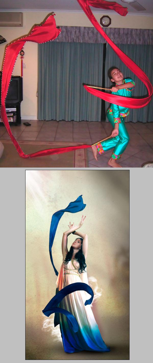 Cómo crear Fantasticos Destellos, Foto Manipulación PSD, Photoshop 22