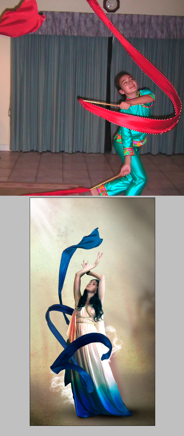 Cómo crear Fantasticos Destellos, Foto Manipulación PSD, Photoshop 23