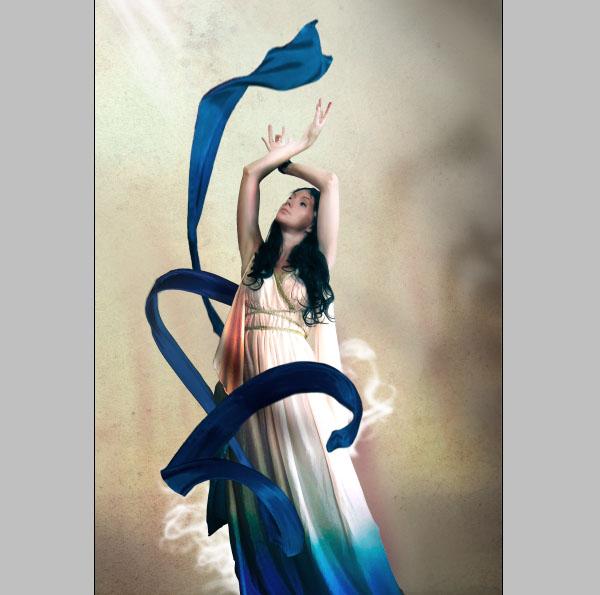 Cómo crear Fantasticos Destellos, Foto Manipulación PSD, Photoshop 26