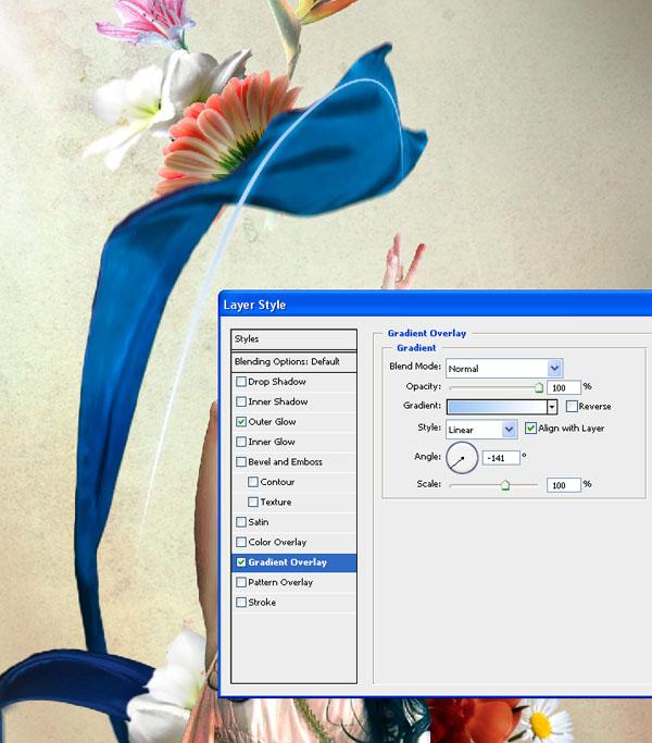 Cómo crear Fantasticos Destellos, Foto Manipulación PSD, Photoshop 35