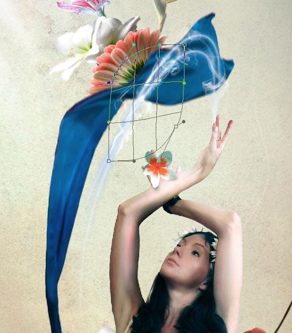 Cómo crear Fantasticos Destellos, Foto Manipulación PSD, Photoshop 38