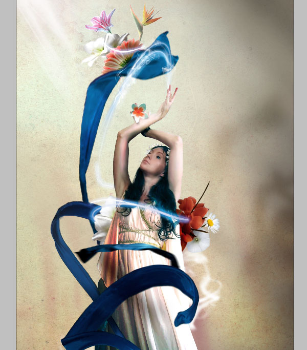 Cómo crear Fantasticos Destellos, Foto Manipulación PSD, Photoshop 39