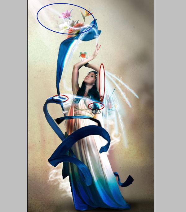 Cómo crear Fantasticos Destellos, Foto Manipulación PSD, Photoshop 42