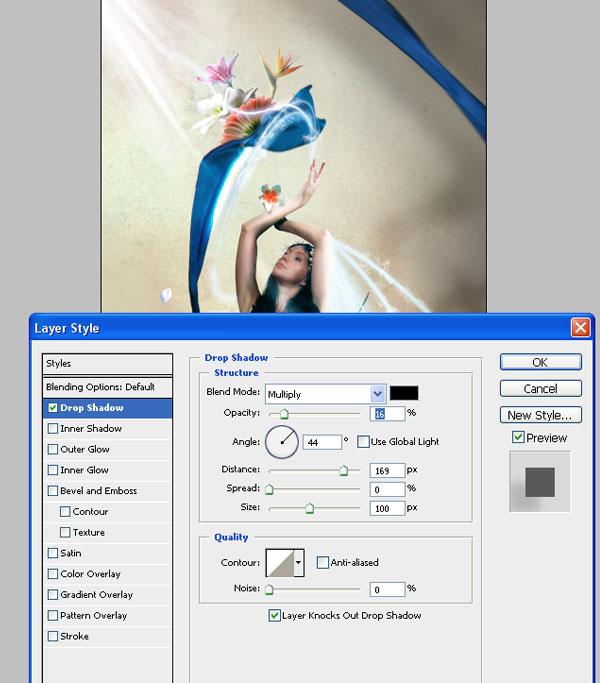 Cómo crear Fantasticos Destellos, Foto Manipulación PSD, Photoshop 44