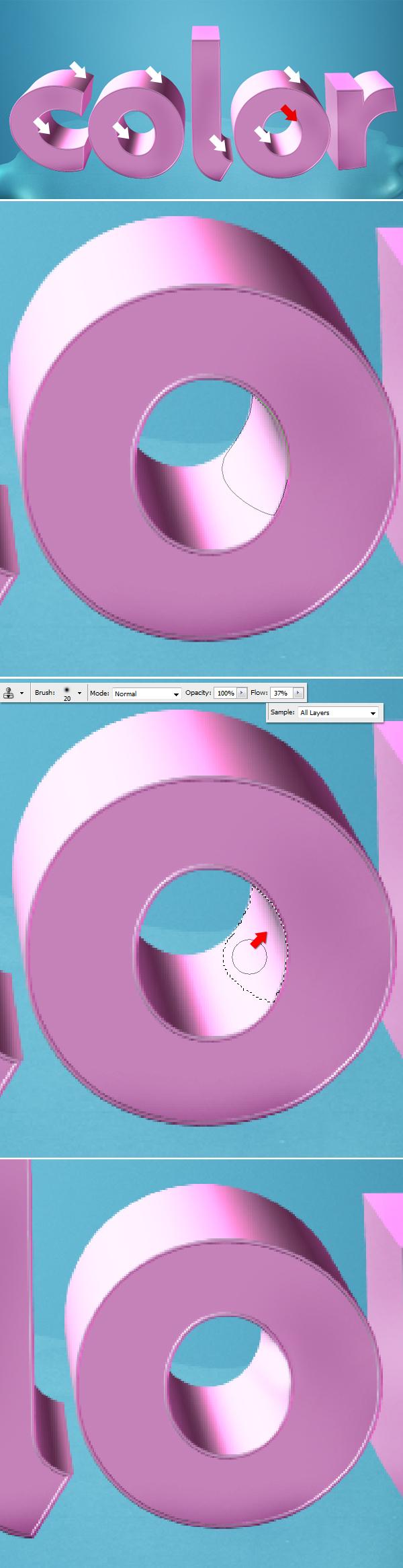 19 Thiết Kế 3D Text với Màu Sắc Ấn Tượng   Phần 1