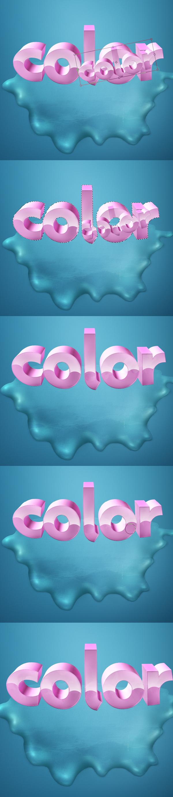 22 Thiết Kế 3D Text với Màu Sắc Ấn Tượng   Phần 1