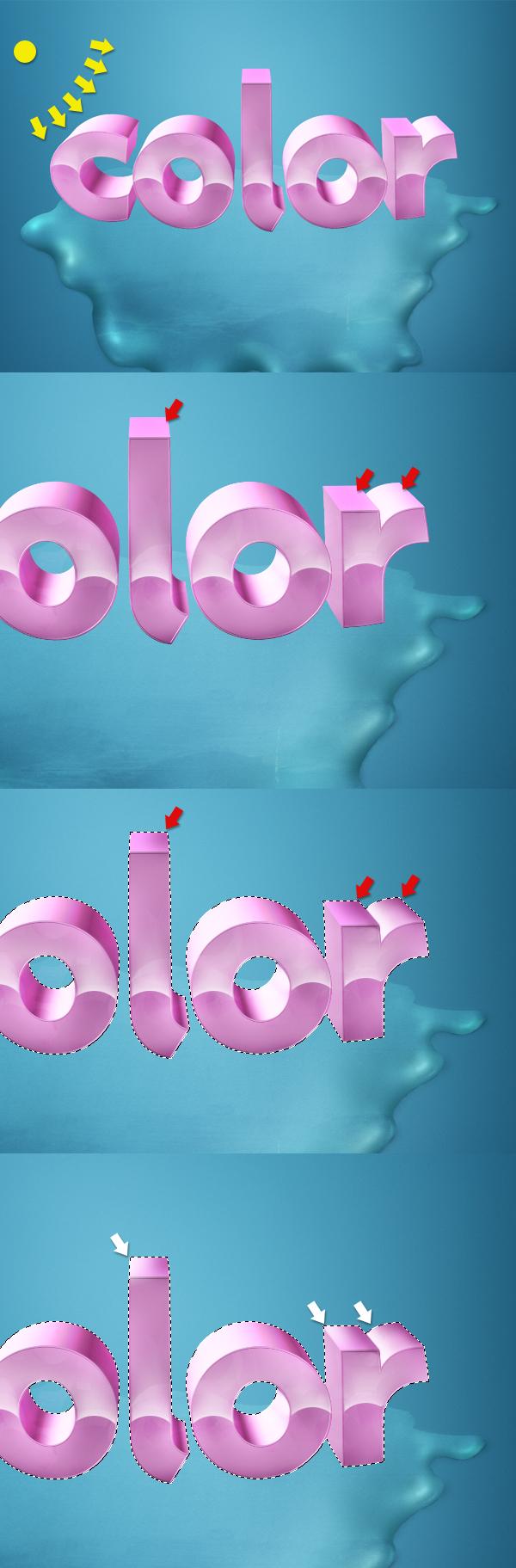 24 Thiết Kế 3D Text với Màu Sắc Ấn Tượng   Phần 1