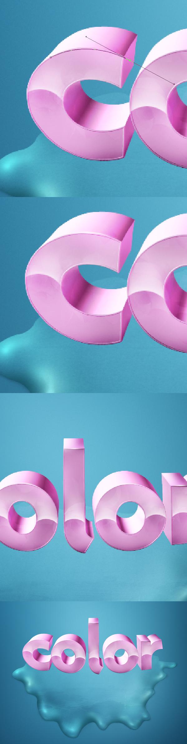 26 Thiết Kế 3D Text với Màu Sắc Ấn Tượng   Phần 1