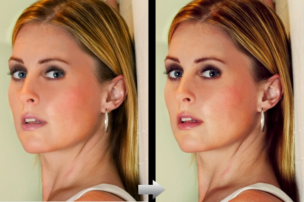 Step7 Adobe Photoshop Model Photo Touch Up Techniques