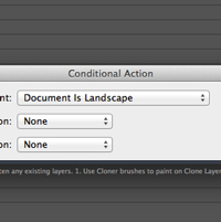 Create Conditional Actions in Photoshop CS6.1