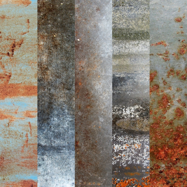 5 Old and Rusty Textures