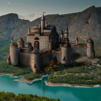 Paint a Castle in Photoshop - Part 1
