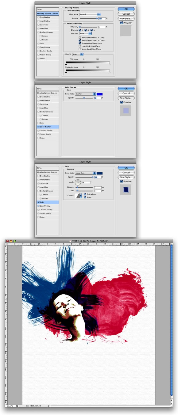 Watercolor Effects in Photoshop